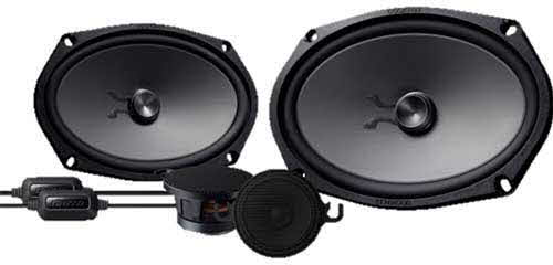 "Kenwood eXcelon 6X9"" Component Speakers"