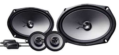 "Kenwood eXcelon 6X9"" Component Speakers - Shallow 6x9"" with 3.5"" Components"