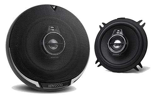 "KENWOOD 5 1/4"" Performance Series 3-Way Flush Mount Coaxial Speakers"