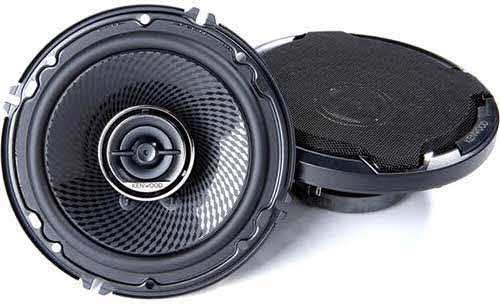 "KENWOOD 6-1/2"" 2-way car speakers"