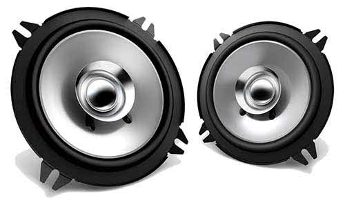 "KENWOOD 5 1/4"" Sport Series Flush Mount Coaxial Speakers"