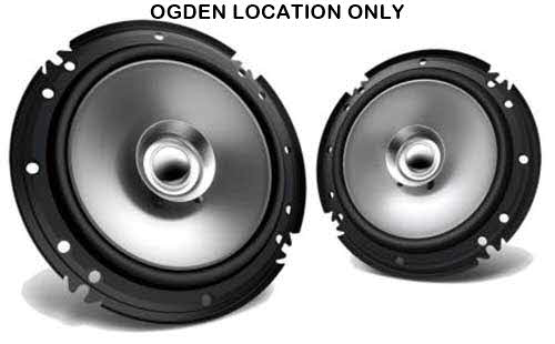 "KENWOOD 70W 6.5"" Sport Series 2-Way Flush Mount Coaxial Speakers w/ Whizzer Tweeters"