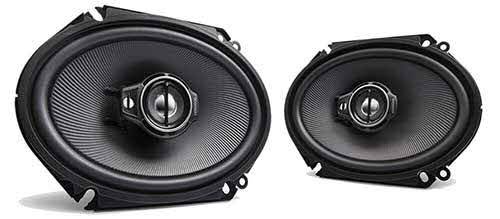 "Kenwood 6x8"" Performance Series 3-Way Custom Fit Coaxial Speaker"