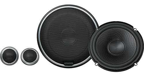 "Kenwood Performance Series 6-3/4"" component speaker system � also fits 6-1/2"" openings"