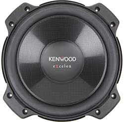 "KENWOOD Excelon Series 10"" 4-ohm component subwoofer"