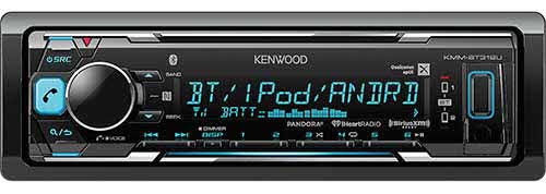 KENWOOD digital media receiver with built-in Bluetooth