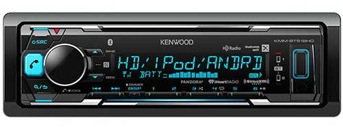 KENWOOD digital media receiver with built-in Bluetooth and HD Radio