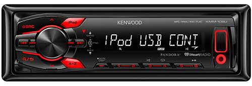 KENWOOD In-Dash Digital media receiver with front USB and AUX inputs