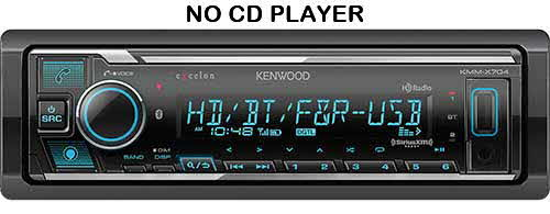 KENWOOD eXcelon Digital Media Receiver with Bluetooth & HD Radio