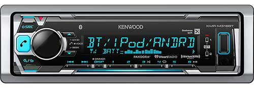 KENWOOD Marine digital media receiver with Bluetooth - No CD Player