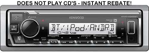 KENWOOD Marine digital media receiver with Bluetooth