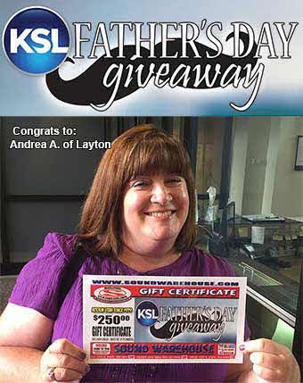 Congrats to Andrea A. of Layton