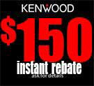 Kenwood Garmin Instant Rebate $150