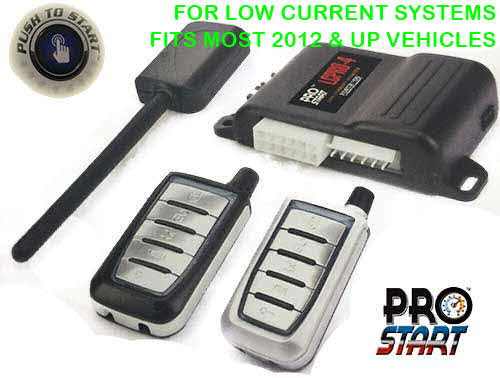 CrimeStopper 1-Way, Five-Button Remote Start System with Keyless Entry