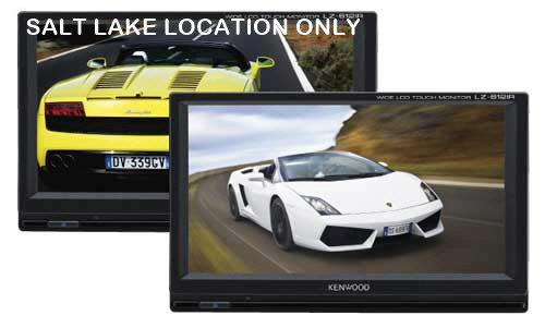 KENWOOD REAR SEAT TWIN 6.1� LCD MONITOR PACKAGE