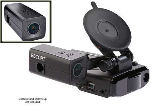 ESCORT HD dash camera for use with select Escort radar detectors