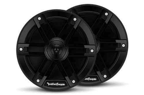 "ROCKFORD FOSGATE M0 Series 6-1/2"" 2-way marine speakers (Black)"