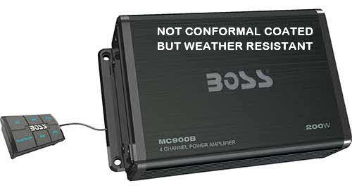 BOSS AUDIO SYSTEMS Bluetooth�-enabled all-terrain amplifier system