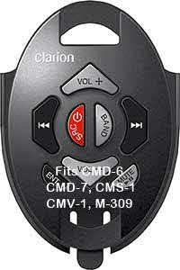 CLARION RF WIRELESS MARINE REMOTE CONTROL