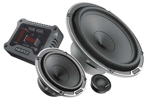 HERTZ Mille Pro 6.5� 3-Way System with 300 Watts Maximum Power