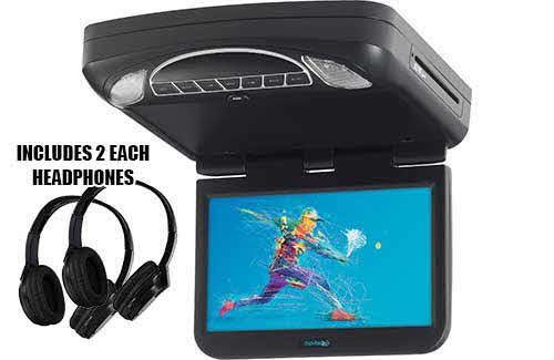 VOXX Electronics 10 inch overhead monitor with DVD player and HDMI input