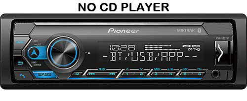 PIONEER - Digital Media Receiver with Pioneer Smart Sync App Compatibility, MIXTRAX®, Built-in Bluetooth®