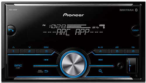 PIONEER - Double DIN Bluetooth In-Dash AM/FM/Digital Media Car Stereo Receiver w/ Pandora and Spotify Control