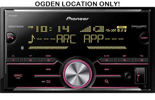 PIONEER Double DIN Mechless Bluetooth In-Dash Digital Media Car Stereo Recevier