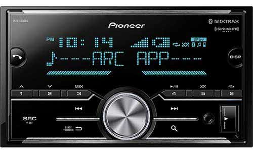 PIONEER - Double DIN Digital Media Receiver with Enhanced Audio Functions, Improved Pioneer ARC App Compatibility, MIXTRAX�, Built-in Bluetooth�, and SiriusXM-Ready�