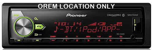 PIONEER - Digital Media Receiver with enhanced Audio Functions, Full-featured Pioneer ARC App Compatibility, MIXTRAX�, Built-in Bluetooth�, and USB Direct Control for iPod�/iPhone�, Specific Android� Phones, and SiriusXM-Ready�