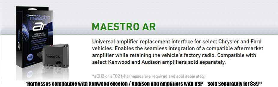 Amplifiers with Built-in DSP for OEM Factory Rados