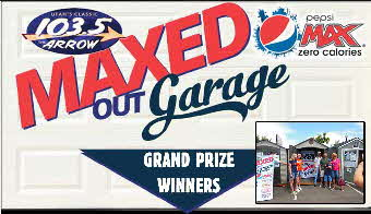 Maxed Out Garage Grand Prize Winners
