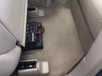2014 Nissan Murano. Installed a Kenwood 4-channel amp & Kenwood speakers with a Audio Control 6-channel output converter.