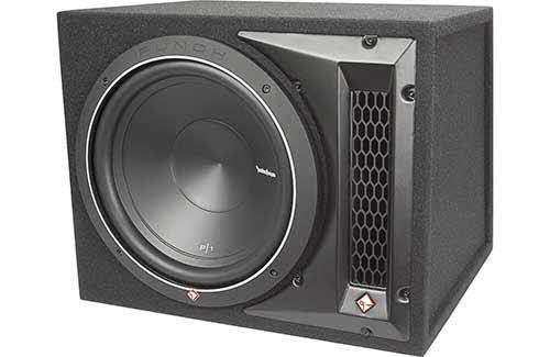 "ROCKFORD FOSGATE Punch P1 12"" ported enclosed subwoofer"