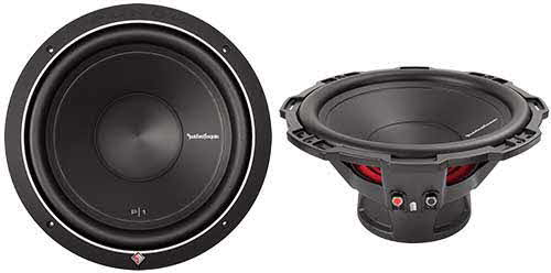 "ROCKFORD FOSGATE 12"" Punch P1 4-Ohm SVC Subwoofer"