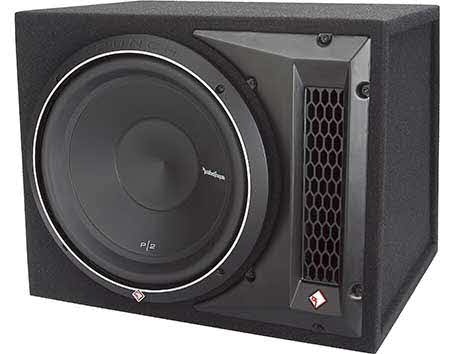 "ROCKFORD FOSGATE Punch P2 ported enclosure with 12"" sub"