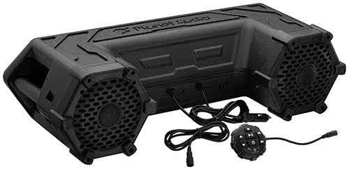 "PLANET AUDIO All Terrain Sound System, Bluetooth, Weatherproof, 6.5"" Speakers, 1.5"" Tweeters"