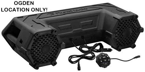 Planet Audio Powersports Plug & Play Bluetooth Sound System 450W Built-in Amp & LED Light Bar