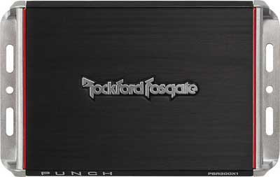 ROCKFORD FOSGATE 300 Watt BRT Full-Range 4-Channel Amplifier