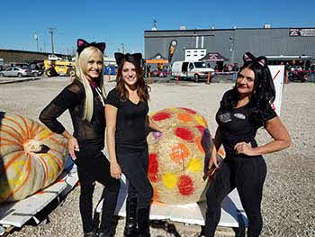 Pumpkin Drop with Rock 106.7, Pioneer, Rockford Fosgate and Addicted Behavior Motor Works Last Saturday