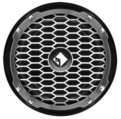 "ROCKFORD-FOSGATE Punch Marine 10"" SVC 4-Ohm Subwoofer - Black"