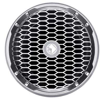 "ROCKFORD-FOSGATE Punch Marine 12"" SVC 4-Ohm Subwoofer in White"