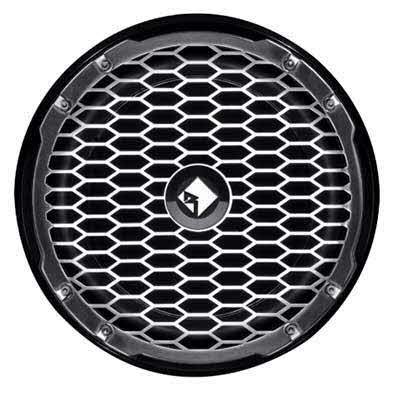 "ROCKFORD-FOSGATE Punch Marine 12"" SVC 4-Ohm Subwoofer - BLACK"