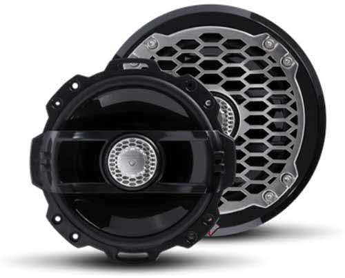 "ROCKFORD FOSGATE Punch Marine 6"" Full Range Speakers - BLACK"