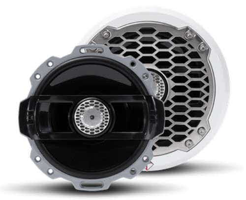 "ROCKFORD FOSGATE Punch Marine 6"" Full Range Speakers - WHITE"
