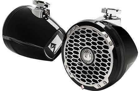"ROCKFORD FOSGATE Punch Marine 6.5"" Mini Wakeboard Tower Speaker - Black"