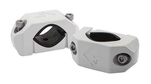 ROCKFORD FOSGATE Diecast Wakeboard Tower Clamp White