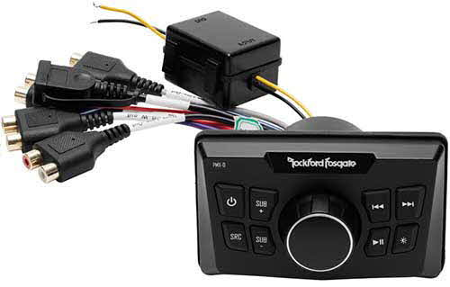 ROCKFORD FOSGATE Punch Marine Ultra Compact Digital Media Receiver
