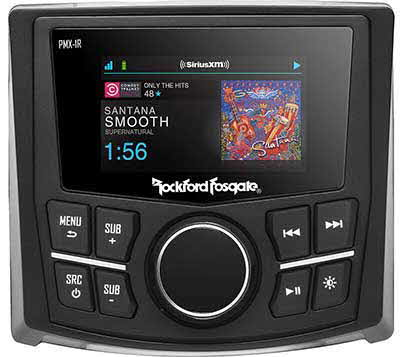 "ROCKFORD FOSGATE Full Function Wired Remote 2.7"" Display"
