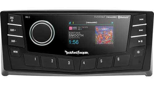 "ROCKFORD FOSGATE AM/FM/WB Digital Media Receiver 2.7"" Display"